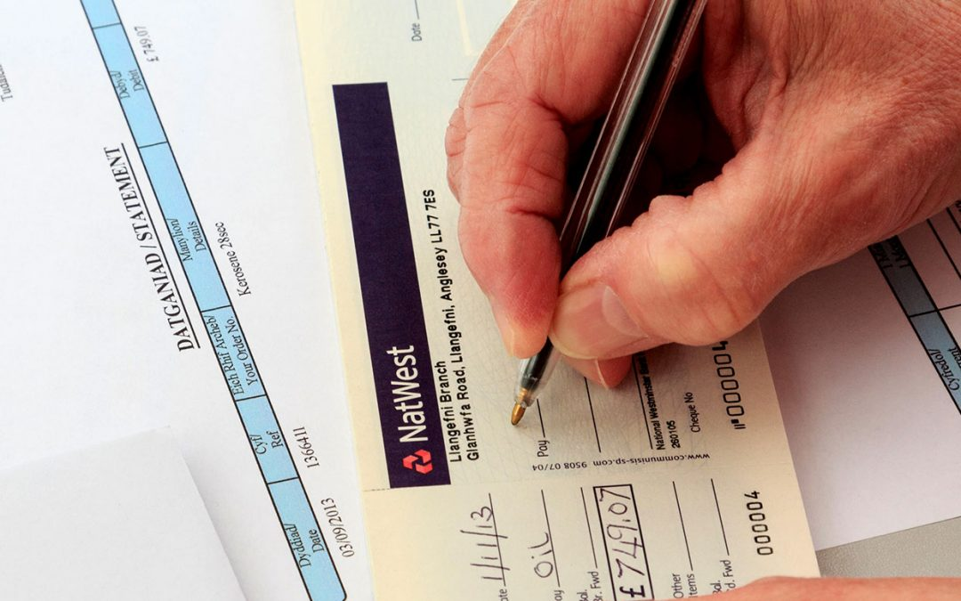 Pre 2019 Agency Bank Cheque Clearing
